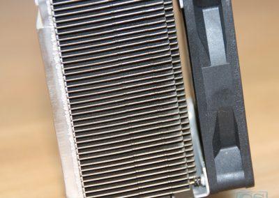 Desktop koelblok + ventilator na schoning, vrij zicht